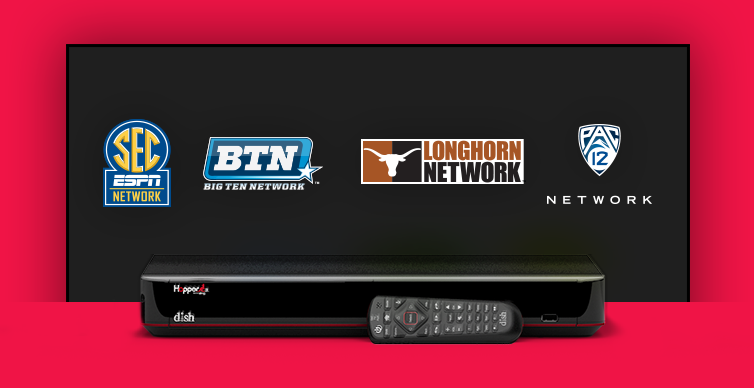 GET DISH AND EVERY MAJOR COLLEGE GAME