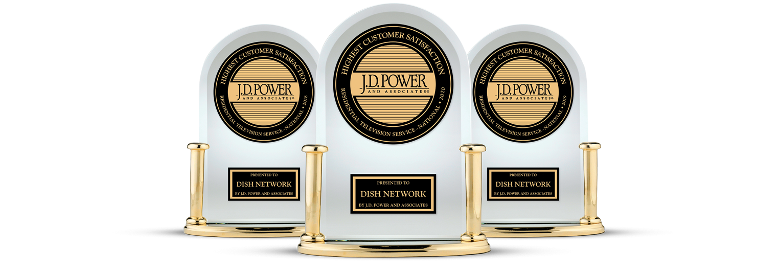 DISH Customer Satisfaction - Ranked #1 by JD Power - LinkUs Enterprises, LLC in Fresno, California - DISH Authorized Retailer
